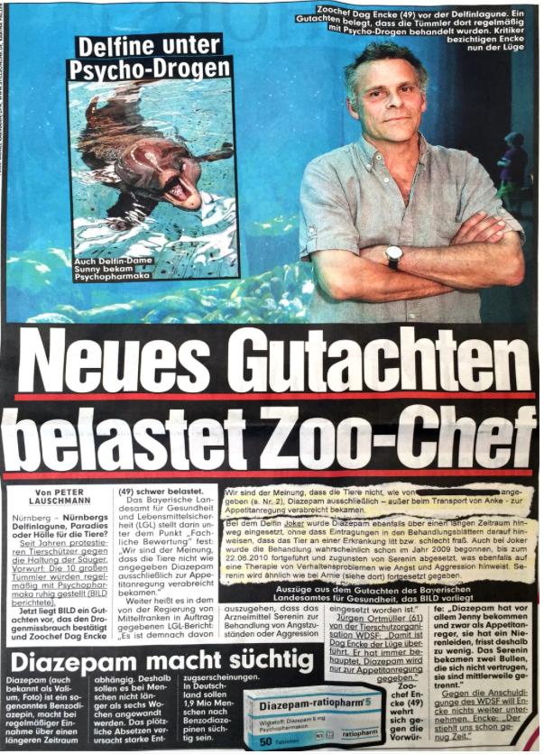 Bild Zeitung Nürnberg (WDSF-Foto)