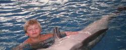 Gesundheitsrisiko: Schwimmen mit Delfinen