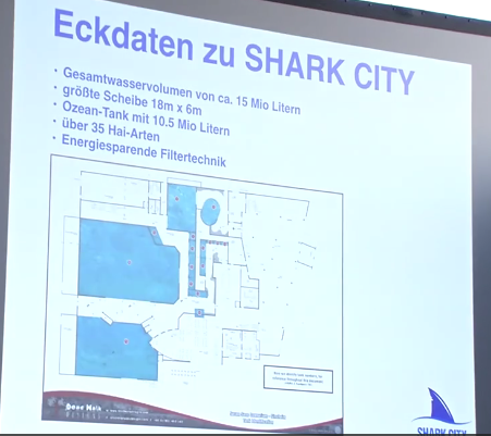 """Shark City"" in Sinsheim/Wasservolumen - WDSF-Foto"