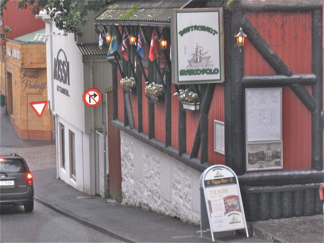 Walfleisch-Restaurant Marco Polo in Thorshavn WDSF-Foto