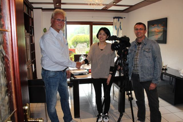 WDSF-Foto - Fuji Television Network Interview